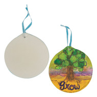 Color-Me™ Bisque Shape, Circle (makes 24)