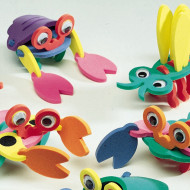 Super Foam® Kooky Creatures Craft Kit (makes 12)