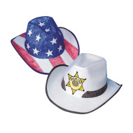 Cowabunga Cowboy Hats Craft Kit (makes 12)