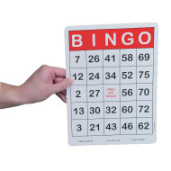 Jumbo Bingo Cards (pack of 100)