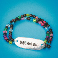 Dream Big Bracelets Craft Kit (makes 24)