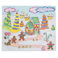 Gingerbread Fun Scene Craft Kit (makes 24)