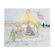 Nativity Fun Scene Craft Kit (makes 24)