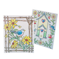 Paint-a-Dot™ Bird Scenes Craft Kit (makes 24)