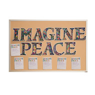 Imagine Peace Collaborative Velvet Craft Kit