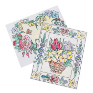 Easy Way Pictures Craft Kit: Floral Designs (makes 24)