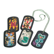 Dog Tags w/out Chain (pack of 24)