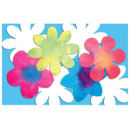 Color Diffusing Flower  (pack of 80)