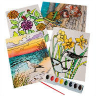 Watercolor Velvet Art Posters (pack of 24)
