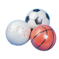 Mini Sports High Bounce Novelty Balls (pack of 12)