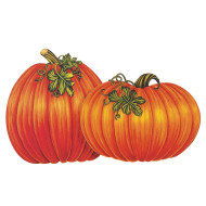 "16"" Pumpkin Cutouts (pack of 4)"