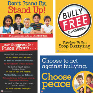 Bully Prevention Bulletin Board Set for Elementary Grades (set of 4)