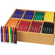 Color Splash!® Broadline Markers PlusPack - 8 Colors  (pack of 200)
