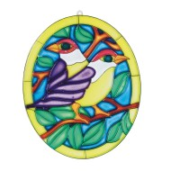 Stain-A-Frame Set - Two Birds   (pack of 12)