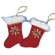 Christmas Stockings Craft Kit (makes 18)