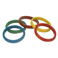Hard Plastic Carnival Toss Game Rings (pack of 12)