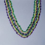 "Deluxe Mardi Gras Beads, 48"" (pack of 12)"