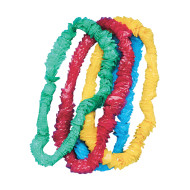 "1"" Festive Party Leis  (pack of 72)"