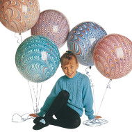 "18"" Peacock Balloon  (bag of 25)"