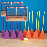 "Broomball Easy Pack, 36""L Brooms"