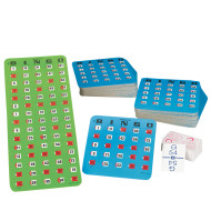 Easy Play Bingo Pack with 50 cards