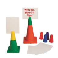 Poly Cone Topper Sign Set (set of 6)