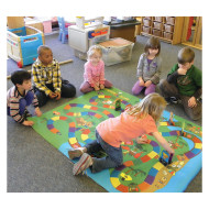 Nutrition Island Jumbo Floor Game