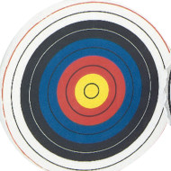 Round Target Face, 48""