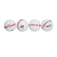 Range Golf Balls with Stripe  (pack of 12)