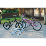 Low Profile Style Bike Rack