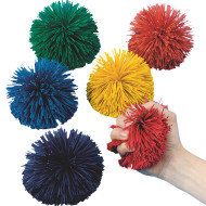 "Spectrum™ 4-1/2"" Kooshie Ball, Solid Color (set of 6)"