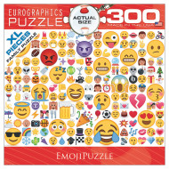 Emoji Jigsaw Puzzle, 300 Pieces