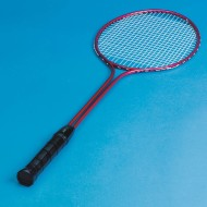 Double Shafted Badminton Racquet