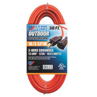 Indoor-Outdoor Extension Cord 50ft.