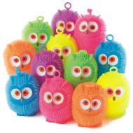 Owl Puffer Balls (pack of 12)