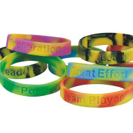 Good Character Traits Silicone Bracelets  (pack of 24)