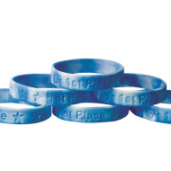 1st Place Silicone Bracelet  (pack of 24)