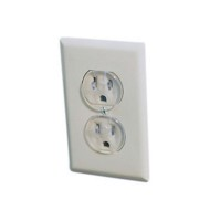 Safety 1st Ultra Clear Outlet Plugs (pack of 12)
