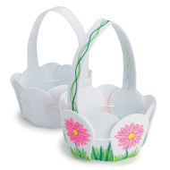 Color-Me™ Felt Petal Basket (makes 12)