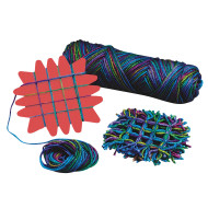 Red Small Weaving Widget  (pack of 6)