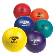 "6"" Gator Skin® Softi Balls  (set of 6)"
