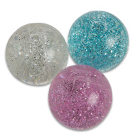 Glitter High Bounce Balls (pack of 12)