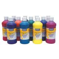 Handy Art® Little Masters® Washable Tempera Paint Assortment, 16oz (set of 12)