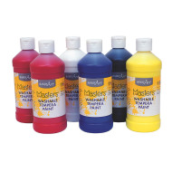 Handy Art® Little Masters® Washable Tempera Paint Assortment, 16oz (set of 6)