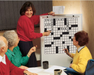 Giant Crossword Puzzles Set 4  (set of 30)