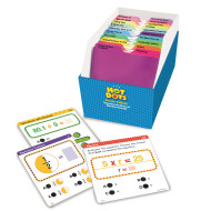 Hot Dots Standards-Based Math Review Card Set, Grade 5