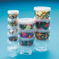 LockTight Storage Containers, Small 1.5oz. (pack of 6)