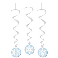 Snowflake Whirls (pack of 18)