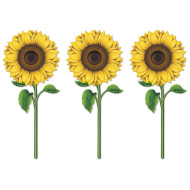 Sunflower Cutouts (pack of 12)