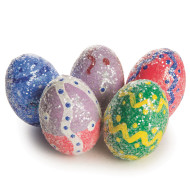 Dazzling Easter Eggs Craft Kit (makes 24)